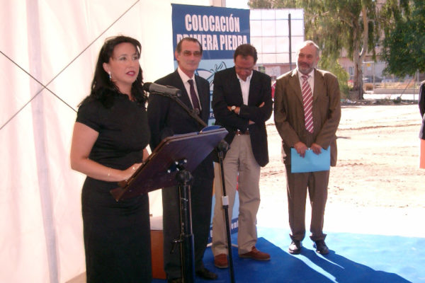 Primera piedra del CFI Gabriel Pérez Cárcel