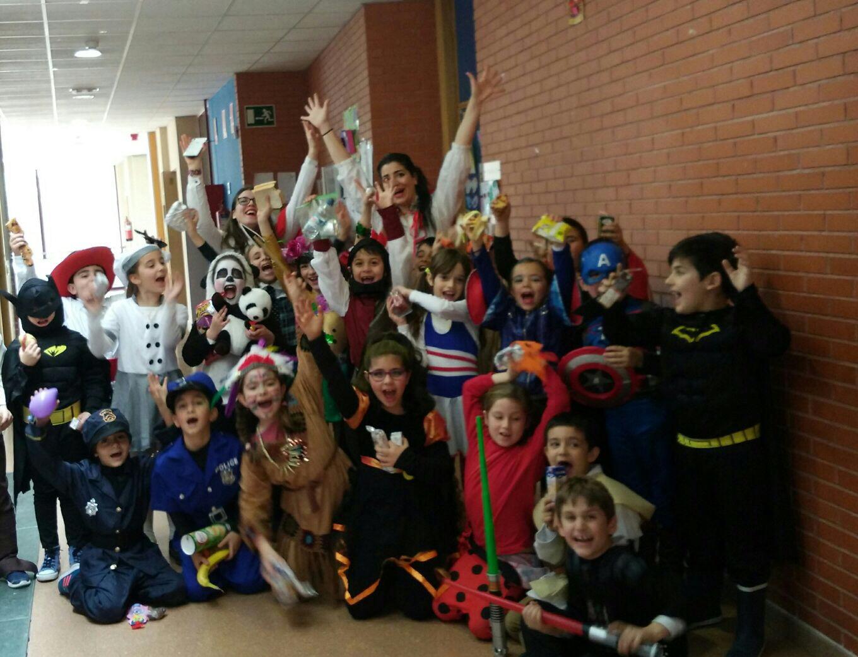 Viernes de Carnaval en el Colegio – Primaria