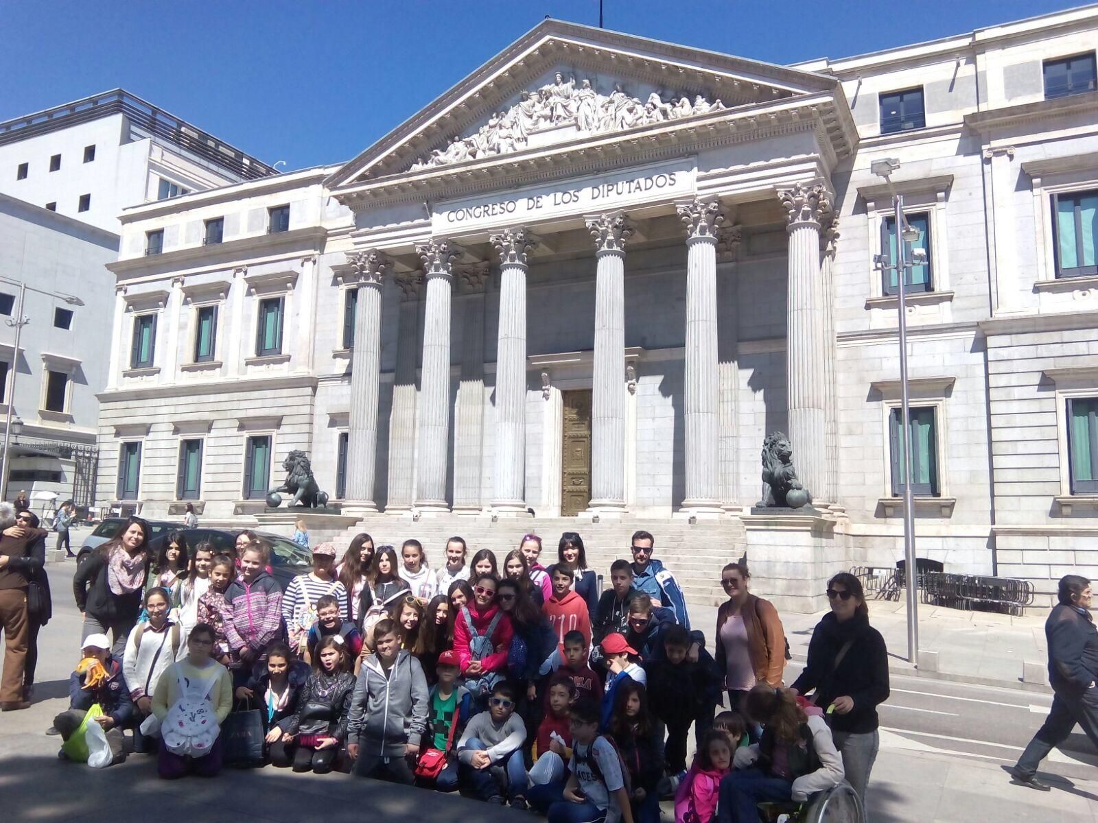 Viaje de estudios  a Madrid 6º Primaria