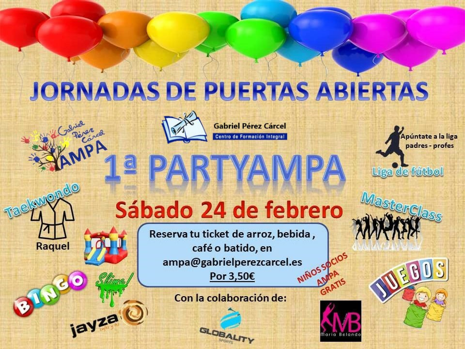 1ª PARTY AMPA