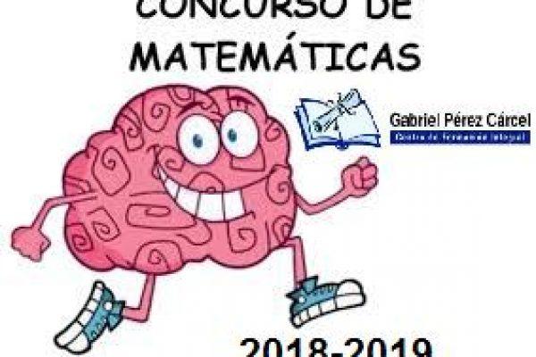 I CONCURSO MATEMÁTICO