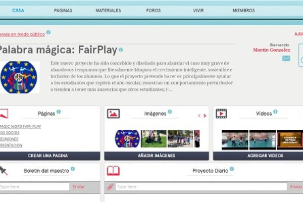 E-TWINNING OF ERASMUS + «MAGIC WORD FAIR PLAY»