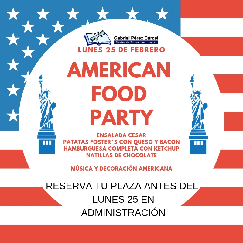 AMERICAN FOOD PARTY