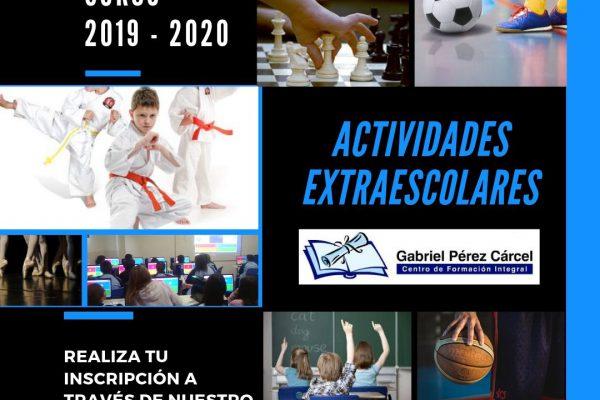 ACTIVIDADES EXTRAESCOLARES CURSO 2019-2020