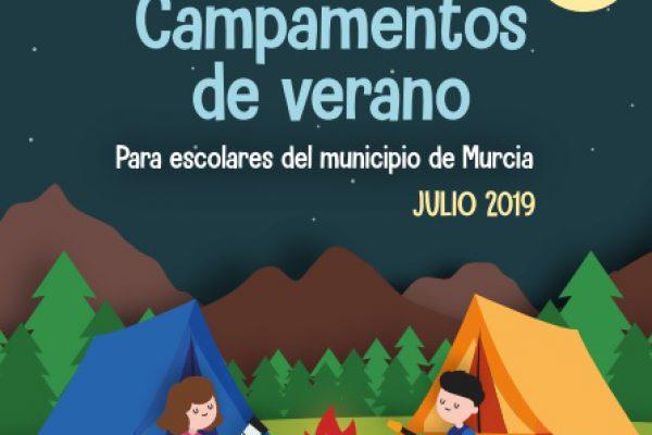 CONVOCATORIA CAMPAMENTOS DE VERANO AYUNTAMIENTO DE MURCIA