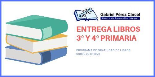 ENTREGA DE LIBROS 3º Y 4º DE PRIMARIA