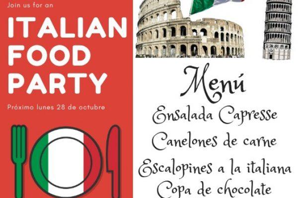 ITALIAN FOOD PARTY