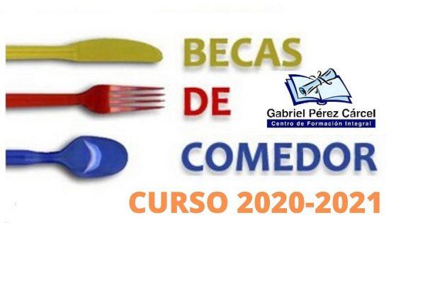 AYUDAS COMEDOR CURSO 2020-2021