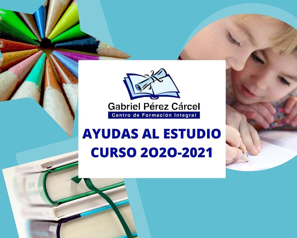 AYUDAS AL ESTUDIO  CURSO 2020-2021