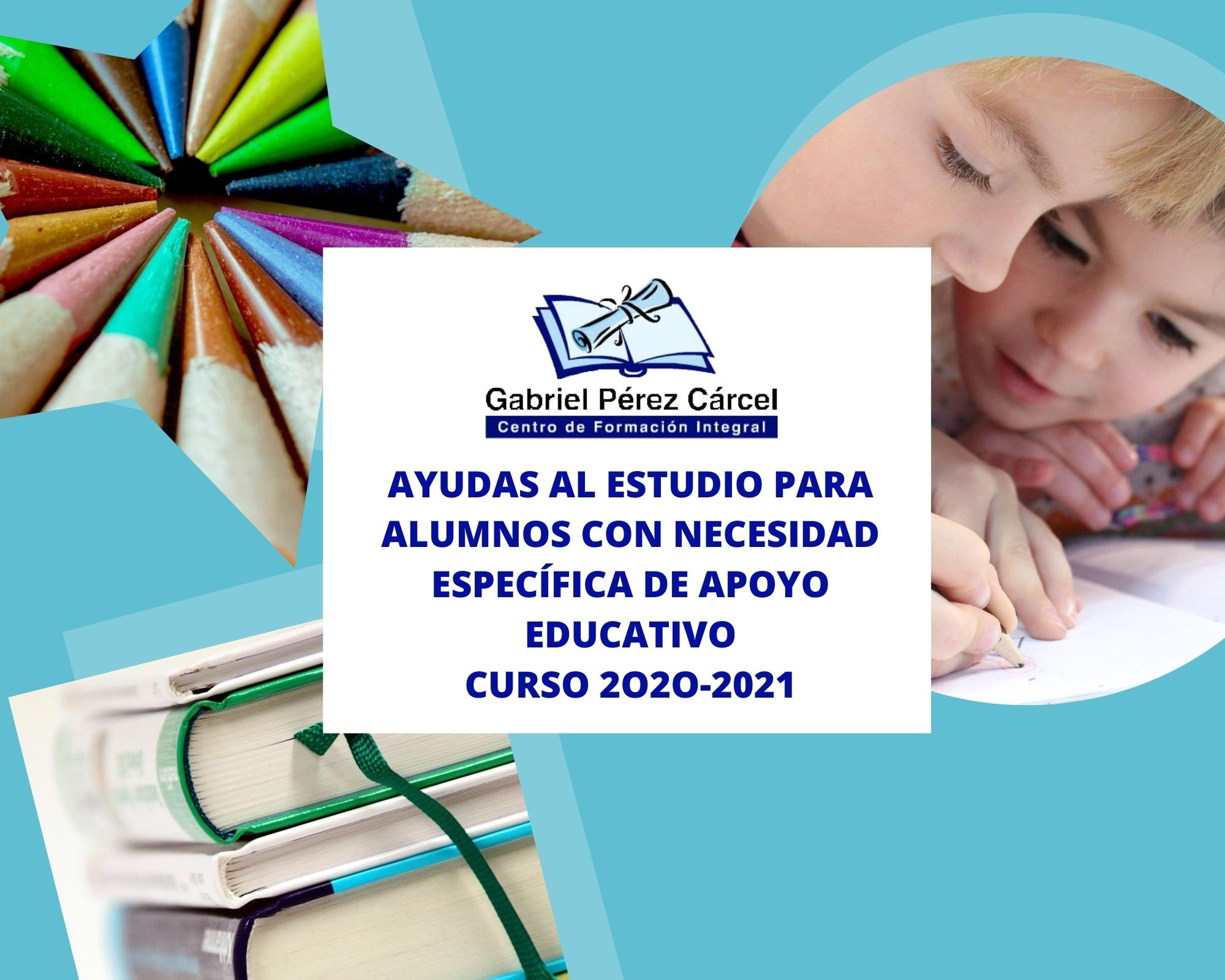 AYUDAS AL ESTUDIO PARA ALUMNOS  CON NECESIDAD ESPECÍFICA DE APOYO EDUCATIVO