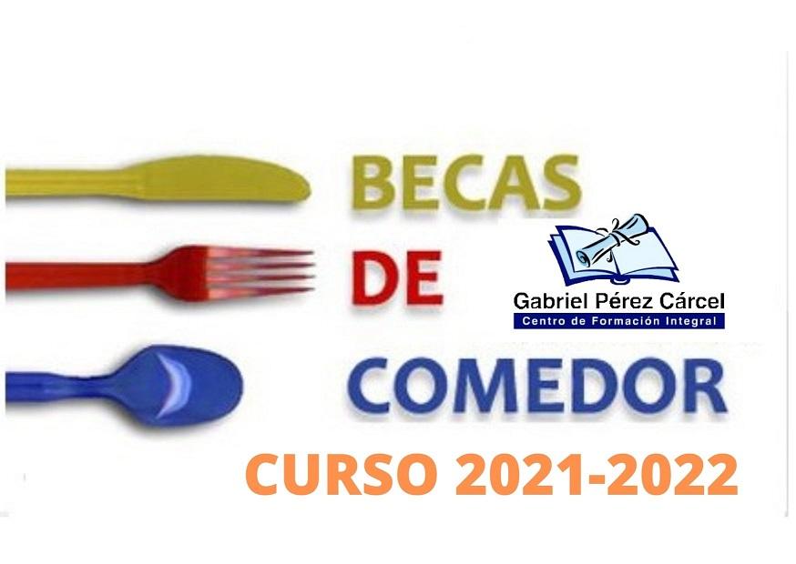 AYUDAS COMEDOR CURSO 2021-2022