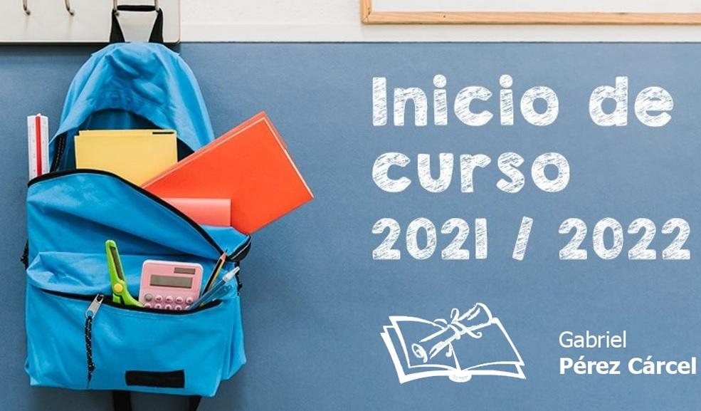 INICIO DE CURSO 2021-2022